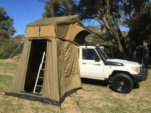 4WD TROOPY | ROOFTOP/GROUND TENT
