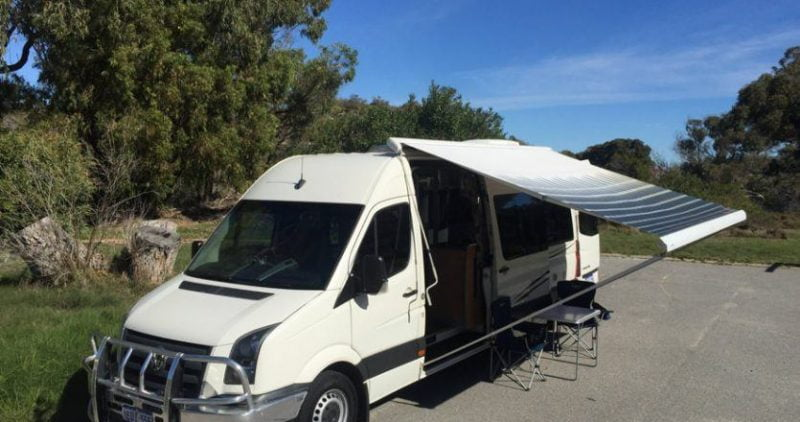 VW CRAFTER CAMPERVAN (AUTO)