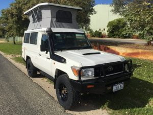 4WD POP-TOP BUSHCAMPERS